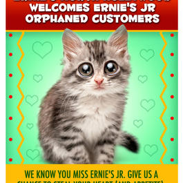 Ernies Jr.