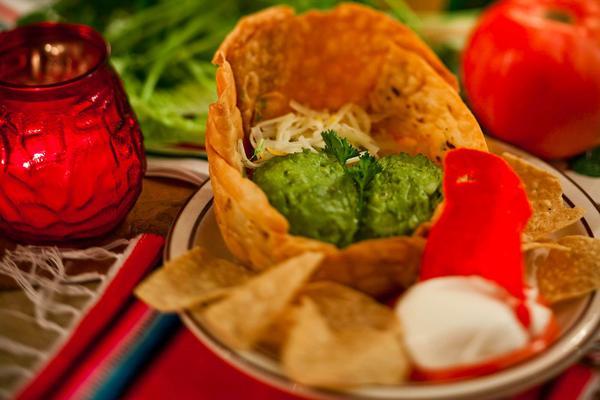 Guacamole en su Concha